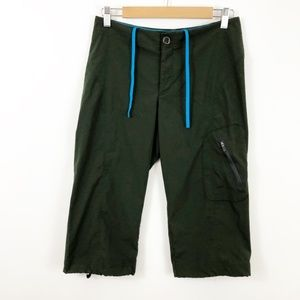 Columbia Olive Omni Shield Bike Hike Long Shorts